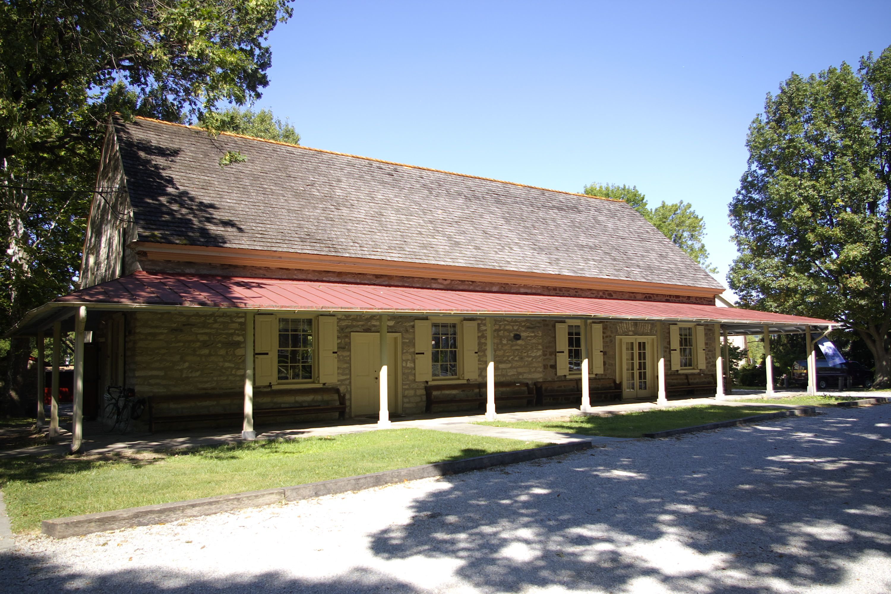 Meeting House in Summer